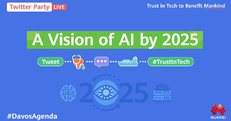 Q4: We will see proliferation of AI in the next 5 years. #Huawei's Global Industry Vision report estimates 97% of big corporations will adopt #AI by 2025. There's talk of job replacement, but what about the benefits of AI in the workplace? #DavosAgenda https://t.co/RKhTHs64nW