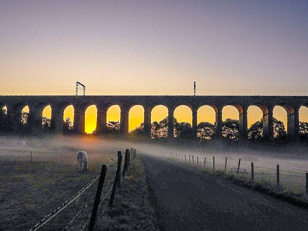 #ThrowbackThursday Misty Viaduct #sunrise #digswell #Hertfordshire #loveukweather #ThePhotoHour #earthcapture @WeatherHerts @hertslife @CloudAppSoc #NaturePhotography #earthandclouds #Weather #nature #landscapephotography #photooftheday
