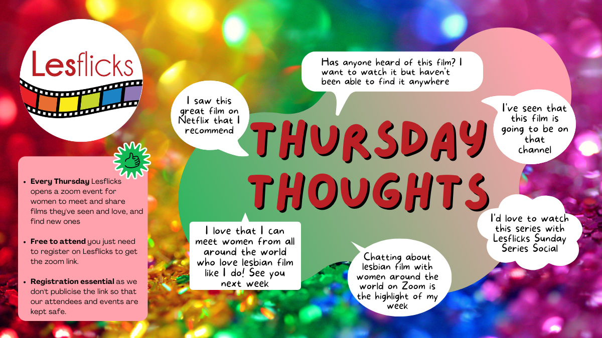 🏳️🌈Join us tonight for our weekly online social! This week's theme: Queerbaiting. Come along & talk with other LBTQ womxn around the world & share your thoughts on the #queerbaiting debate!  ➡️ #thursdaythoughts Pls RT @goproudout @LOTLmagazine