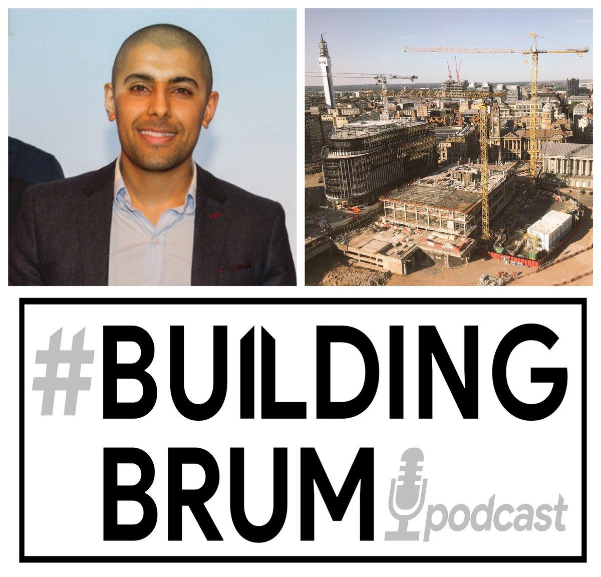 @BuildingBrum latest podcast #BuildingBrum x Sunil Johal is now available:   #SpotifyPodcasts: #ApplePodcasts:  #Podcasts#Construction#ConstructionIndustry#Birmingham