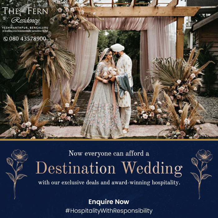 """""""Do not go where the path may lead, go instead where there is no path and leave a trail."""" Simply follow that rogue streak that got you to consider a #DestinationWedding in the first place & add unconventional touches to your ceremony. Know more: 08043578900 