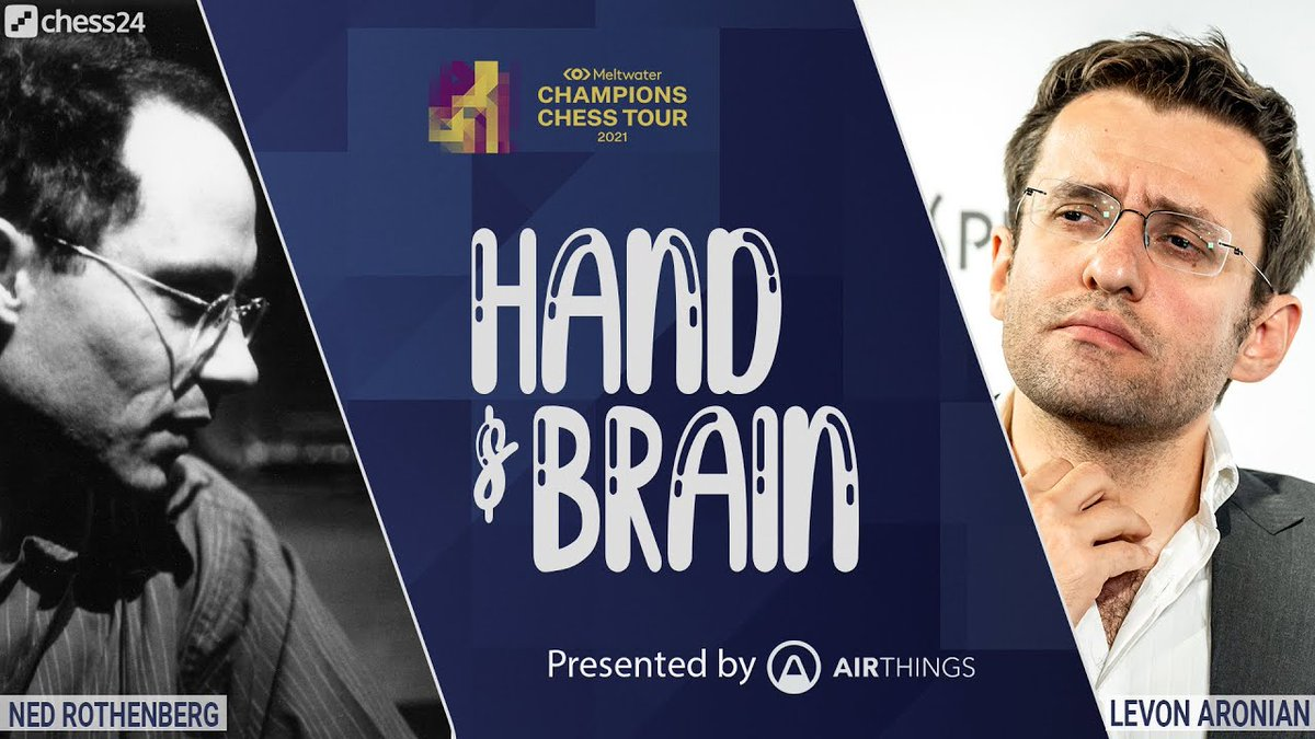 test Twitter Media - Today at at 16:00 CET, @AirthingsGlobal presents Hand & Brain with @LevAronian and musician Ned Rothenberg!  Chess24 Premium members can challenge the duo here: https://t.co/WAD9VfKteA #ChessChamps #Airthings https://t.co/yAnAo6gvC2