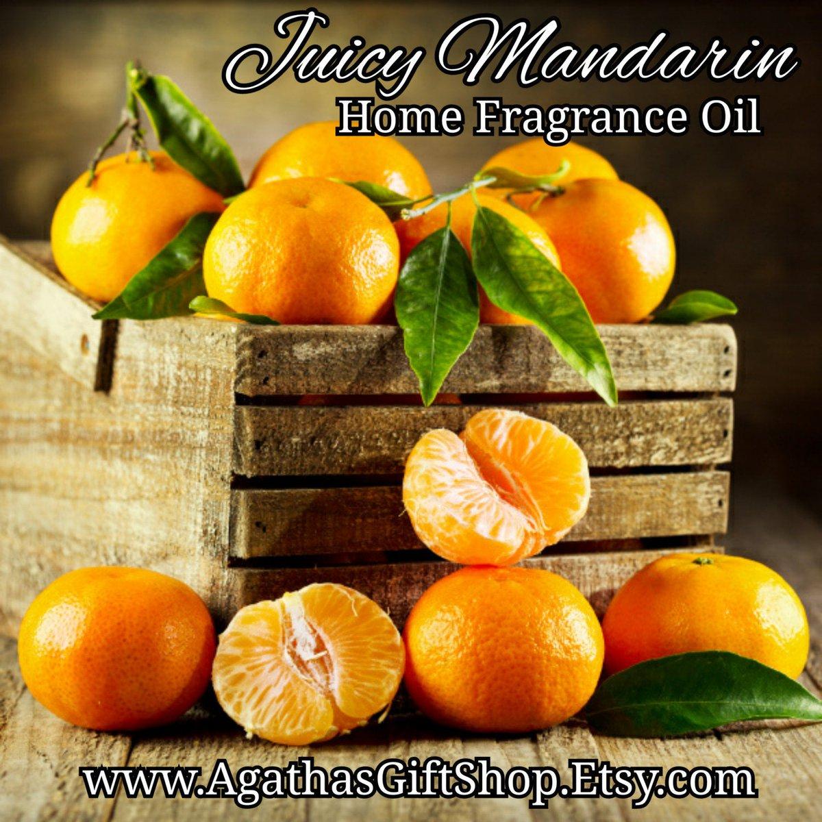 Juicy Mandarin Home Fragrance Diffuser Warmer Aromatherapy Burning Oil  #CyberMonday #BlackFriday #Wedding #Etsy #PerfumeBodyOils #AromatherapyOil #HerbalRemedies #Incense #GiftShopSale #HomeFragranceOil #JuicyMandarin