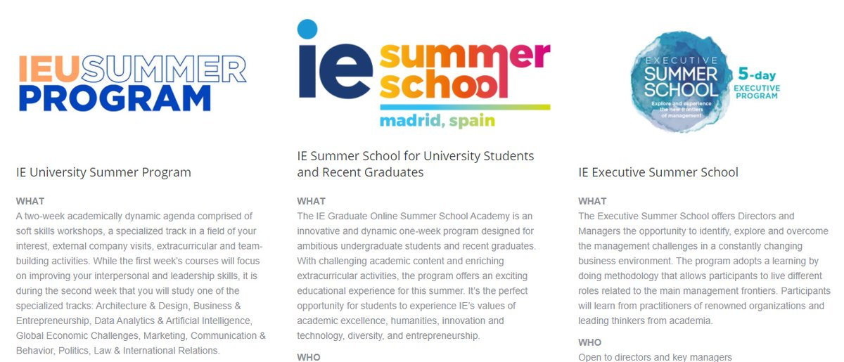IE Summer School students at MasterHome Residencia. IE Business school organises every year interesting and unique summer programs.   All the information 👉    #postgraduate #university #comingsoon #summer #Summer2021 @iebschool