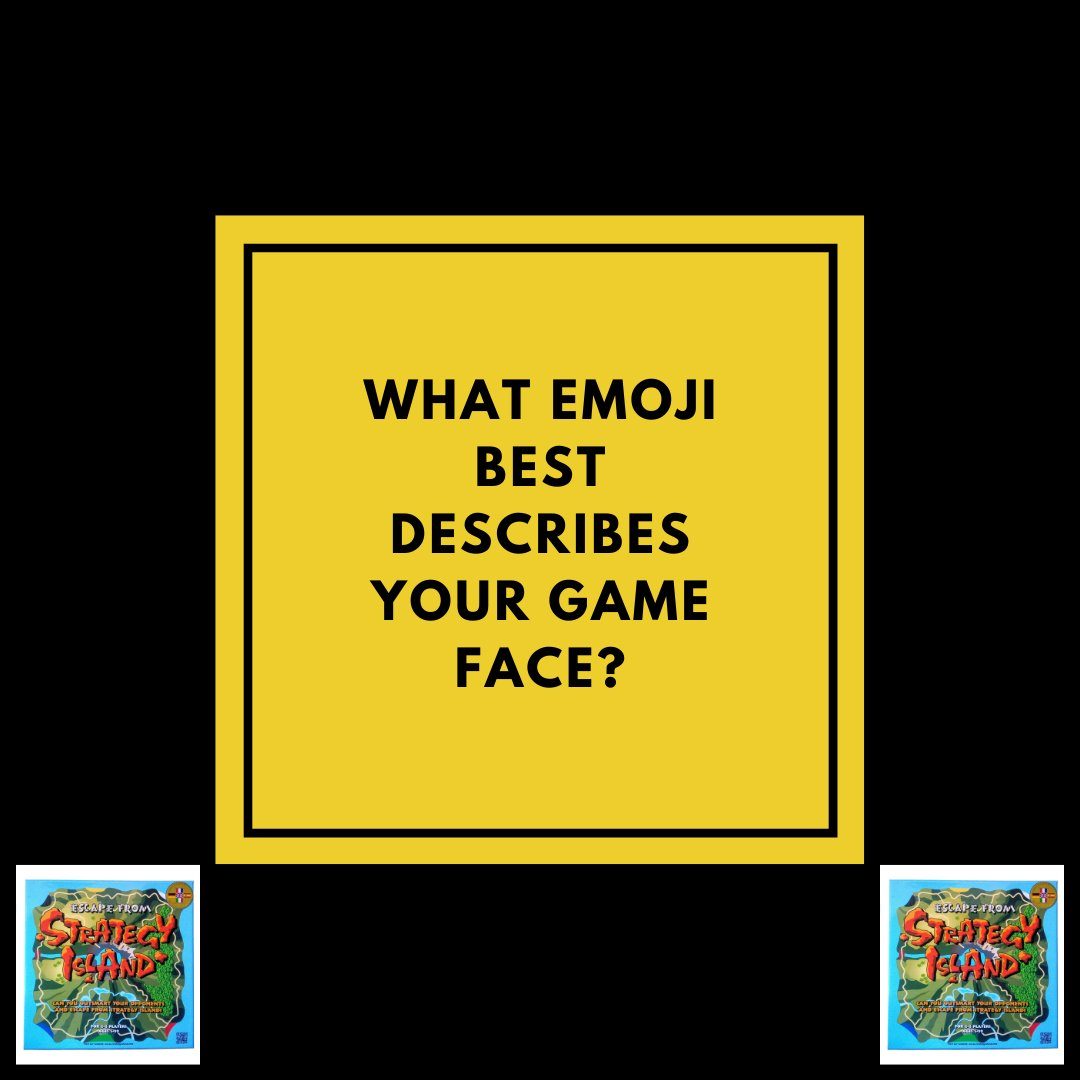 We'd love to know what emoji best describes your game face?! Insert below! 😊  #newboardgame2021 #strategygame #strategyboardgame #funwiththekids #familytime #lockdowngames #lockdownideas #lockdownactivities #boardgames