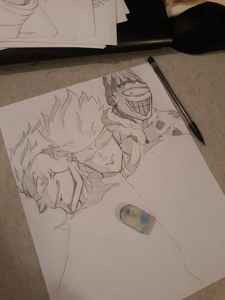 Here's a JJK sketch, gonna finish it up sometime later.  #jujutsukaisenfanart #JujustuKaisen #drawing