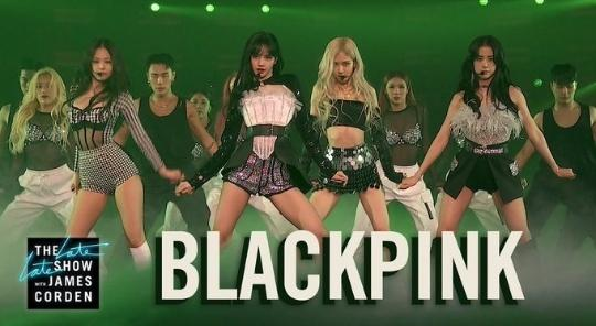 THE BIGGEST GG😍  PRETTY SAVAGE ON CORDEN  #BLACKPINKxCORDEN #PURRR @BLACKPINK