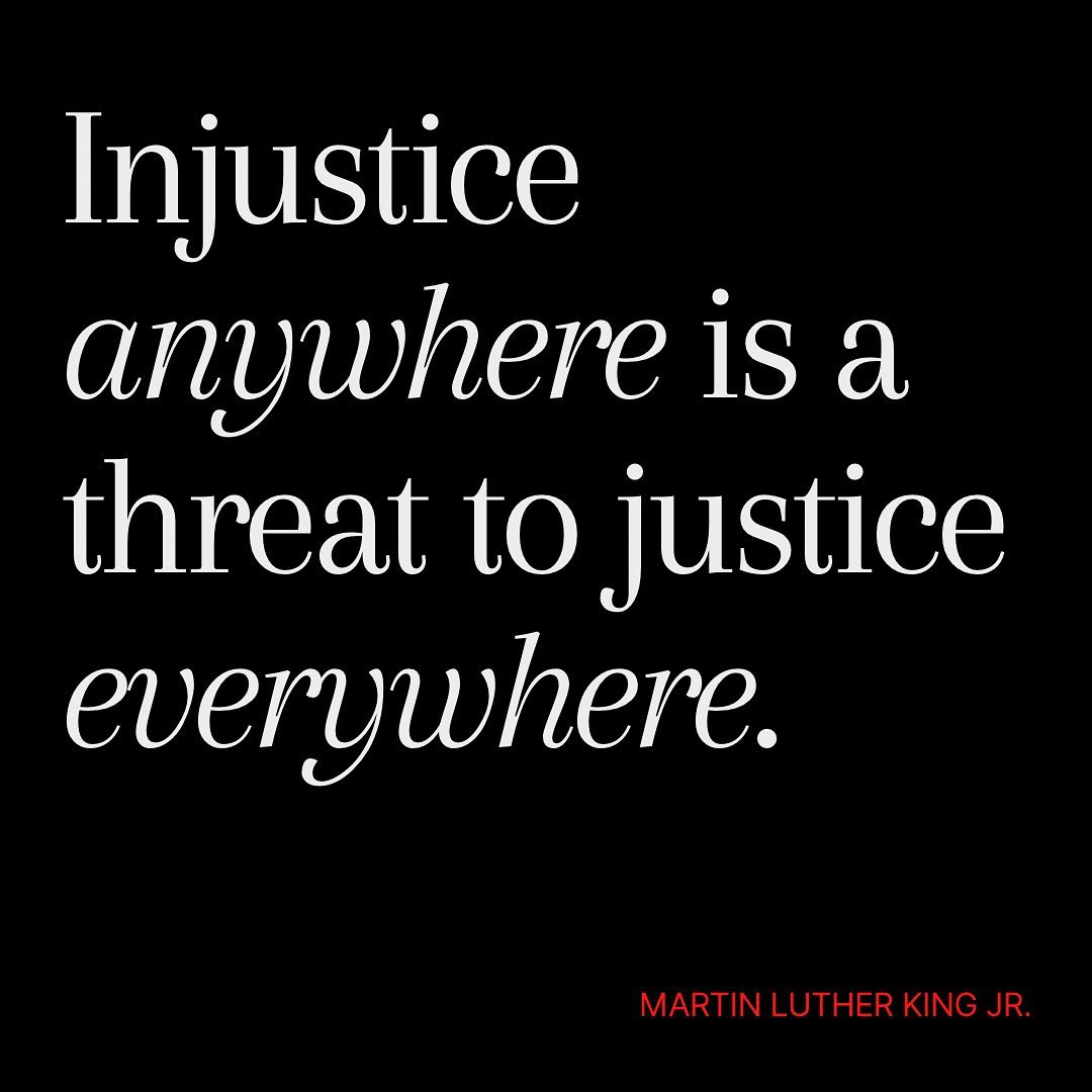Happy Martin Luther King Jr. Day! Let's act with kindness and justice everyday! • • • • • #mlkquotes #mlkday #martinlutherkingjrday #quinnkc #instagramquotes