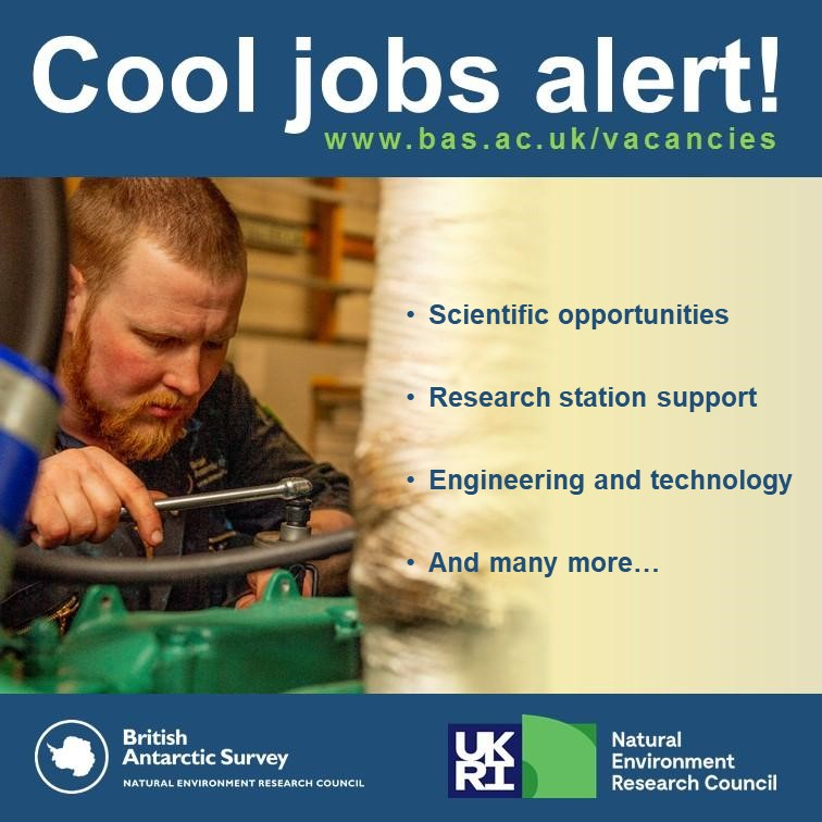Applications for #Antarctic roles are open for 2021 🇦🇶  We offer a wide range of opportunities including #trades, #science, #engineering and station support roles.  Apply here:   #CoolJobs #RecruitingNow #Antarctica