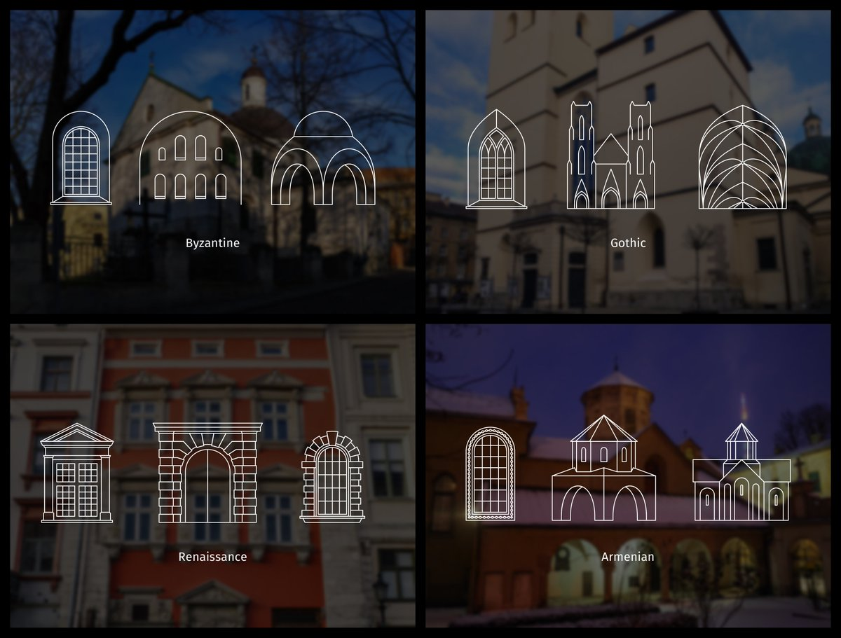 🔥🔥🔥 My recent article went viral! 450+ reposts on Facebook and counting:   It tells about the oldest buildings in Lviv and helps you recognize ancient architectural styles: Byzantine, Romanesque, Gothic, and Renaissance.  #ukraine #architecture #history