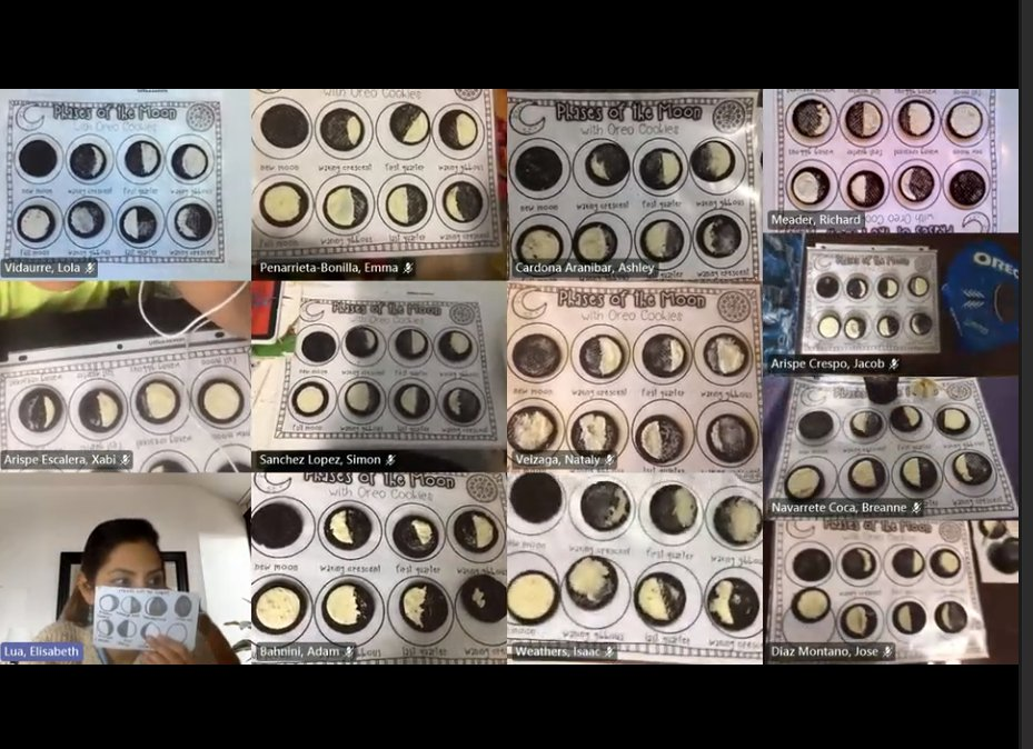 Y.E.S. Club students wanted a science lesson, so they used Oreo cookies to represent each phase of the moon's cycle! Next week we're using toothpicks and marshmallows to build things! <a target='_blank' href='http://twitter.com/APS_ProjectYES'>@APS_ProjectYES</a> <a target='_blank' href='http://twitter.com/CIS_APS'>@CIS_APS</a> <a target='_blank' href='http://twitter.com/CIS_Lua'>@CIS_Lua</a> <a target='_blank' href='https://t.co/HyleQt5KN4'>https://t.co/HyleQt5KN4</a>