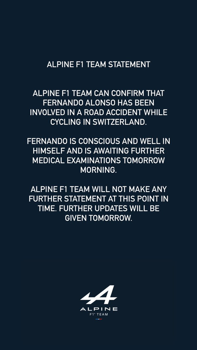 Get well soon @alo_oficial