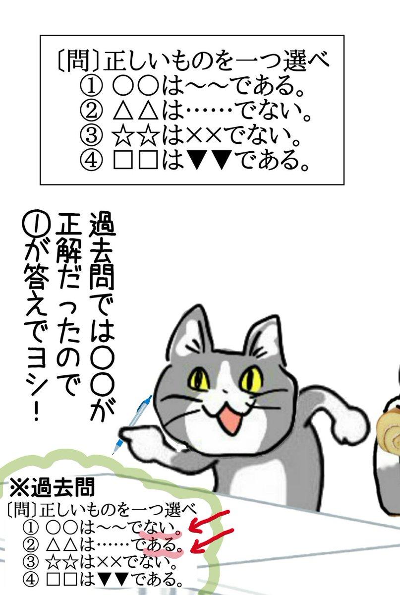 選択肢の語尾が変わっただけなのに、どうして簡単にワナに引っかかっちゃうんですか! #現場猫