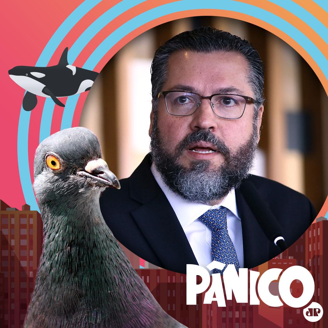 O atual Ministro das Relações Exteriores do Brasil, Ernesto Araújo é nosso convidado de amanhã.   Então, se liga que o programa é AO VIVO e começa às 12h. Você pode assistir no canal oficial do Pânico no Youtube ou na Panflix!