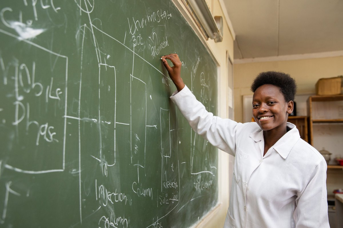 On the International Day of Women and Girls in Science, learn about the inspiring students of @WISERGirls_Intl—an organization from our community in Kenya that is empowering the next generation of women in #STEM.  Read more:
