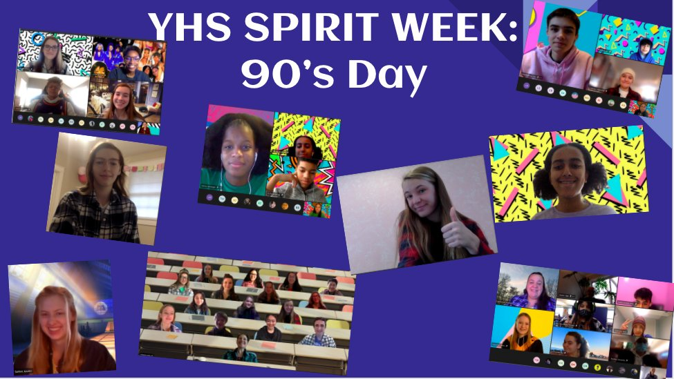 Thanks to those who participated in 90's Day! Tomorrow is Favorite TV Show/ Movie Character Day! <a target='_blank' href='http://twitter.com/yhssports'>@yhssports</a> <a target='_blank' href='http://twitter.com/YorktownHS'>@YorktownHS</a> <a target='_blank' href='http://twitter.com/Principal_YHS'>@Principal_YHS</a> <a target='_blank' href='http://twitter.com/YorktownYB'>@YorktownYB</a> <a target='_blank' href='http://twitter.com/YorktownSentry'>@YorktownSentry</a> <a target='_blank' href='http://twitter.com/YorktownAPs'>@YorktownAPs</a> <a target='_blank' href='https://t.co/Omejvjdasa'>https://t.co/Omejvjdasa</a>