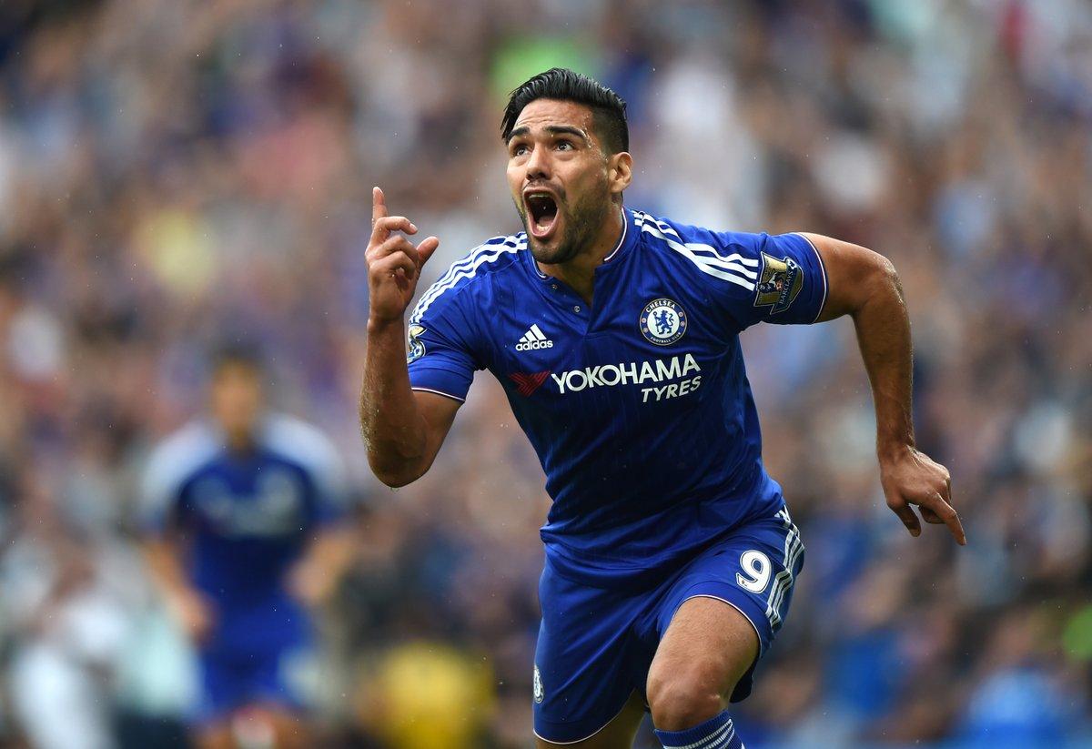 Un tigre suelto en Stamford Bridge... 🐯🇨🇴🏟️  ¡Feliz cumpleaños, @FALCAO! 🥳🎂