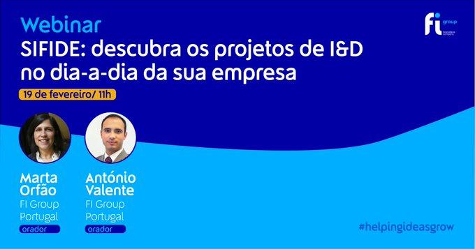 Na próxima sexta-feira, 19 de fevereiro, às 11h vamos estar à conversa com Marta Orfão e Ant....