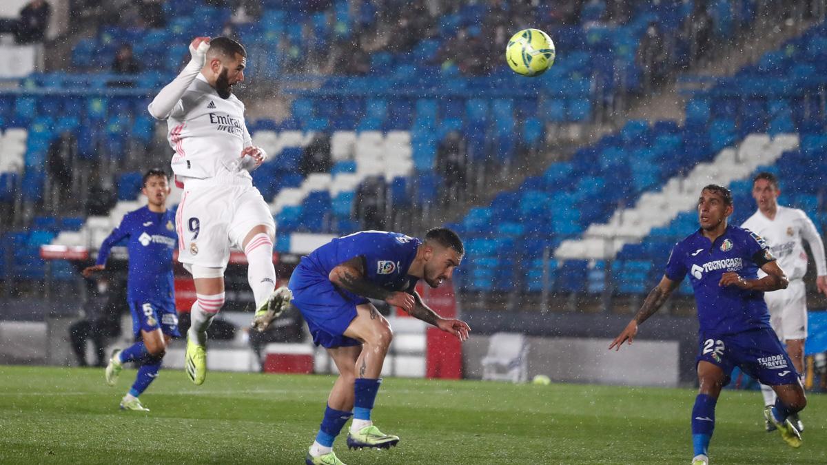 ريال مدريد يقهر الظروف والإصابات بالتغلب على خيتافي بهدفين دون رد