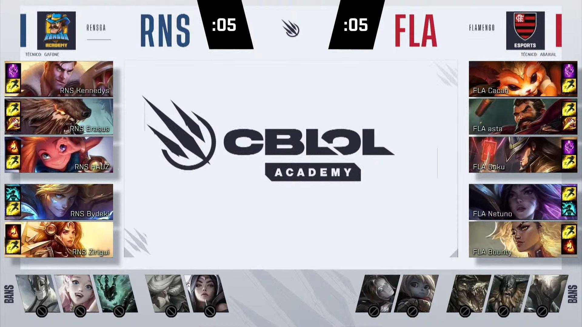 CBLOL Academy – Flamengo perde, mas continua no topo!