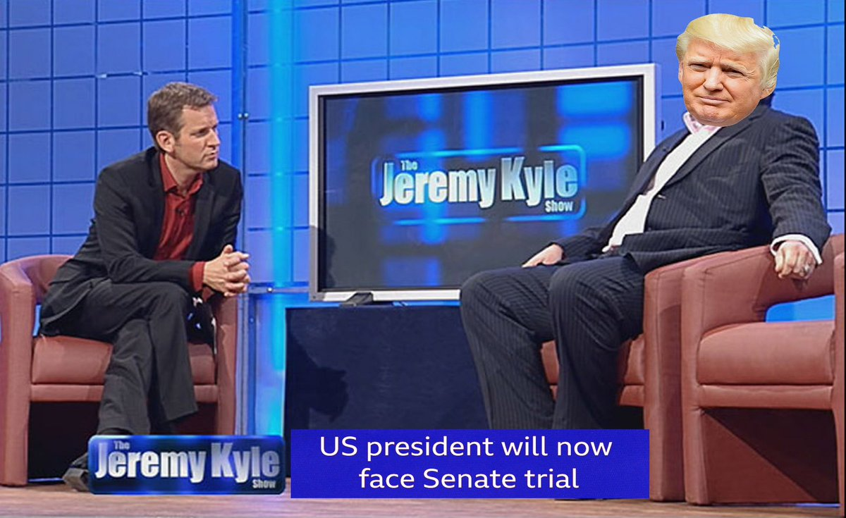 In a alternate universe there's a #925club that's really happy tomorrow. #TrumpImpeachment #JeremyKyle