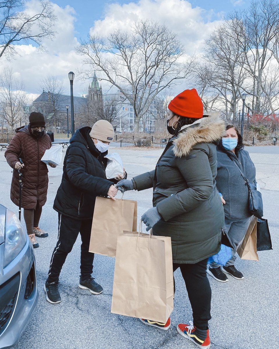 #ChurchOnMission | Our friends at Redemption Church participated in #MLKDayofService last month, caring for their neighbors in the Red Hook neighborhood of New York.  Church volunteers gave out winter clothing, PPE and food donated by a local restaurant, @Redhooklobster!