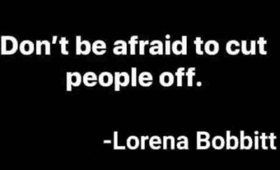 #LorenaBobbitt #heresto2021 #fuckit #justthetip #cutitout #dancindusty #werk #funny #tuesdaymemes #tuesdayfunday #yassssss
