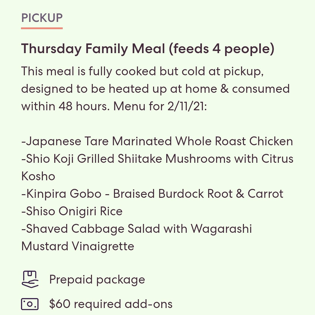 Here's a treat for those in the Milwaukee area. On Thursday, they offer a ready to heat, dinner takeout for four.  We did this two weeks ago & it was delish! Early Valentines treat.  #MKETech