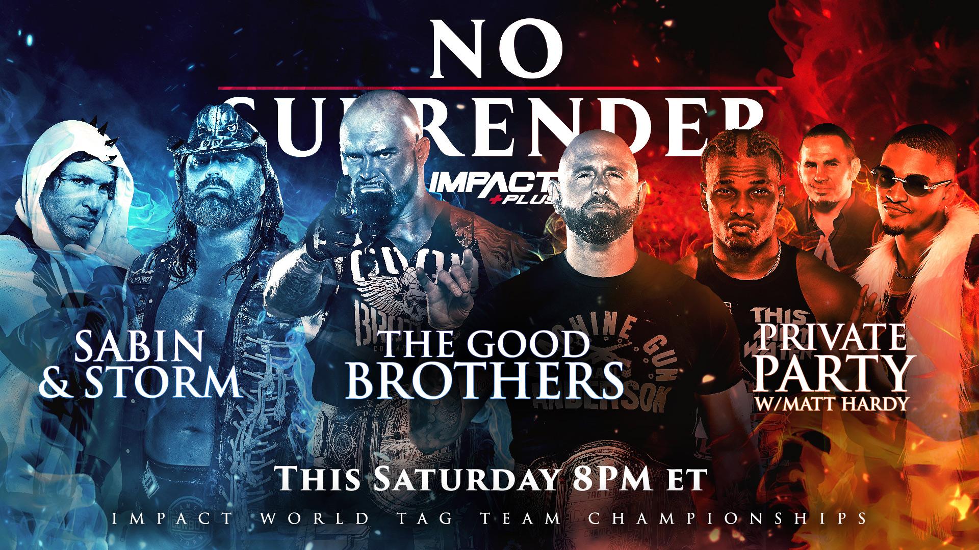 Impact's No Surrender Triple Threat Match