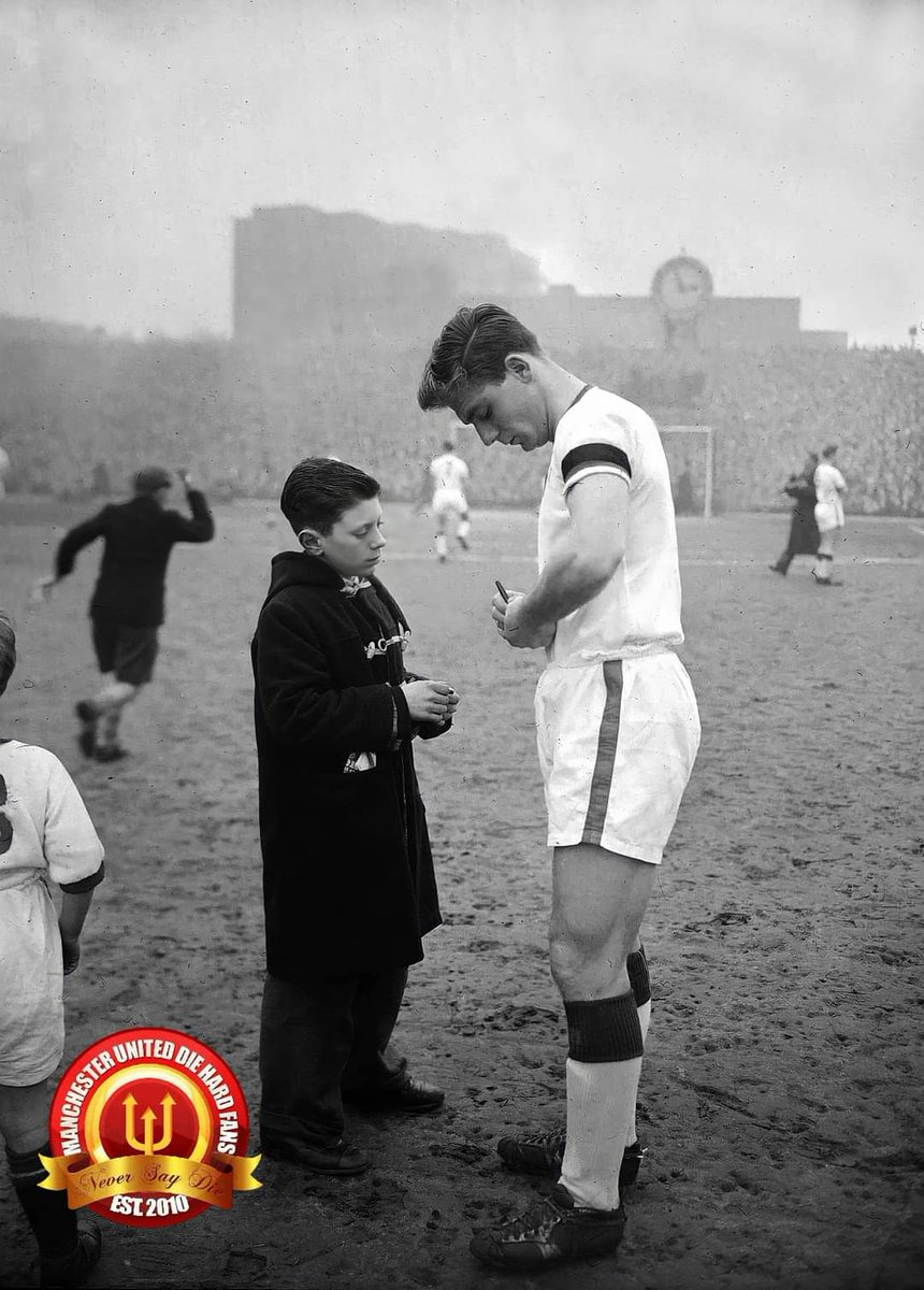 """What time's the kick off against Wolves, Jimmy? I mustn't miss it.""  Duncan Edwards, asked the assistant manager Jimmy Murphy, as he lay in the hospital bed fighting for his life after the Munich Air Disaster. A few days later, the 21 year old passed away.  #FlowersOfManchester"