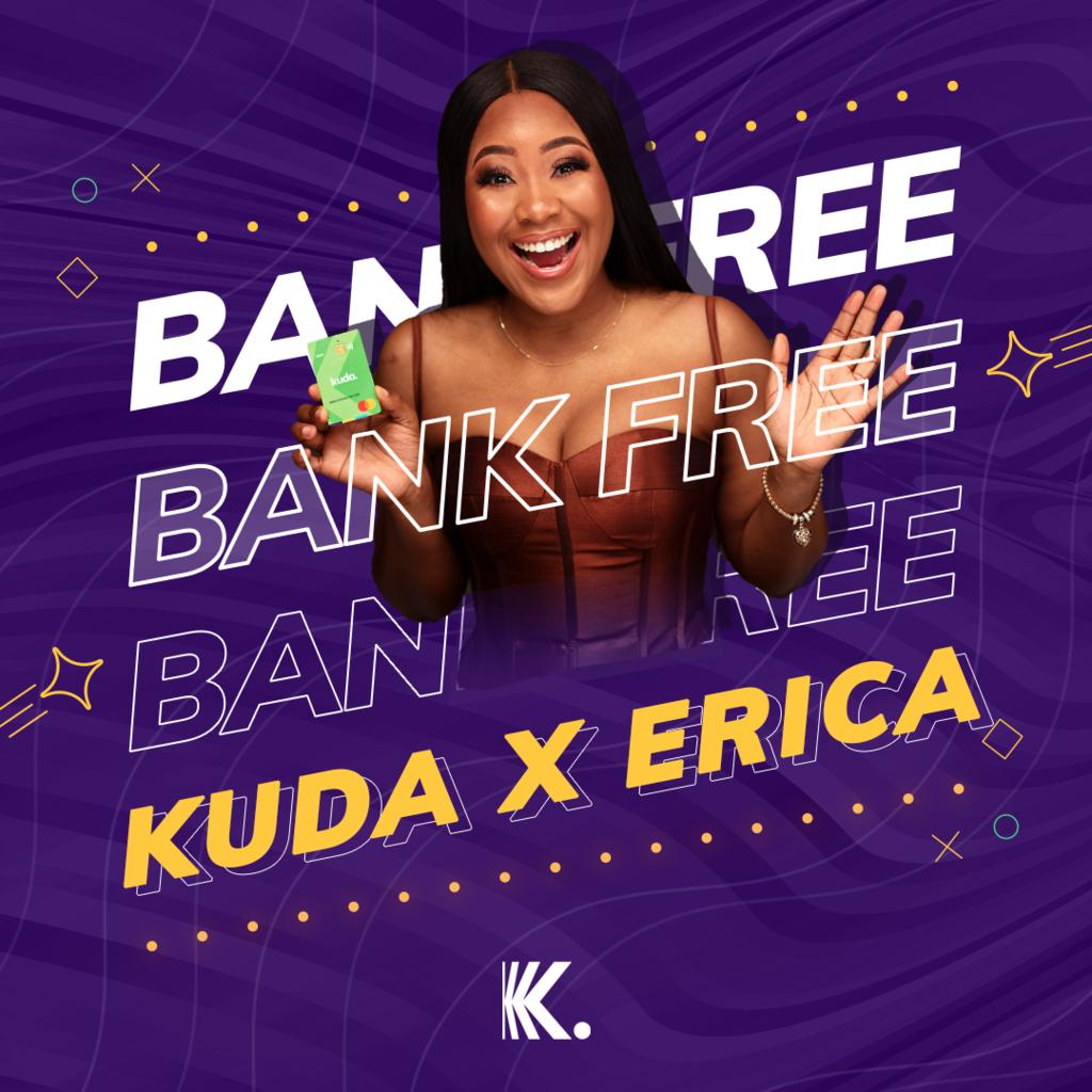 I'm giving 20 Elites 500,000 naira to share this Valentine's! 😍  For a chance to win:  1. Visit  to download Kuda  2. Open a Kuda account with my referral code: STARGIRL  3. Confirm your BVN and add a valid ID.  4. Follow @kudabank.  #KudaxEricaValentine