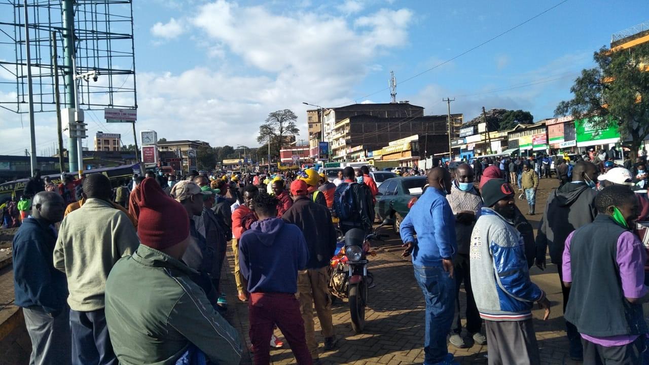 Passengers Stranded In Ngong Over Matatu Workers' Strike
