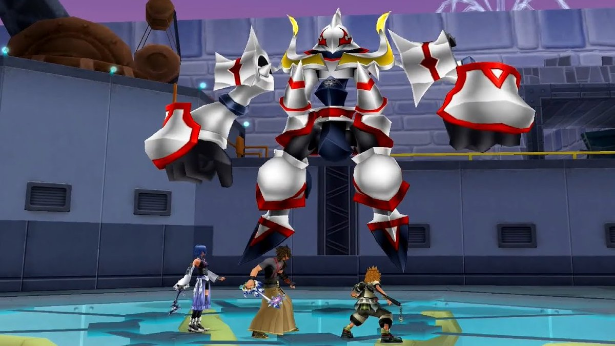 Battled Symphony Master, the Magic Mirror and Trinity Armor. (BbS) #kingdomhearts #Disney #SquareEnix #Cinderella #snowwhite #Playing #gaming
