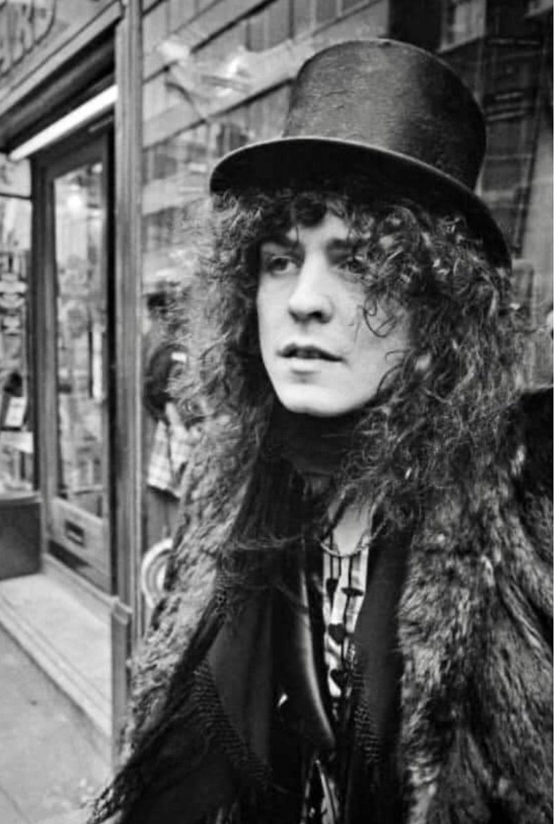 MARC BOLAN ~T. Rex 1972 Feb. 10th  Hatchetts, Piccadilly, London T. Rex won Disc Music Award for Best Group 1971. Photos from that day. Hot Love, Get It On, and Electric Warrior album rocketed T. Rex up the charts. #marcbolan #TRex50