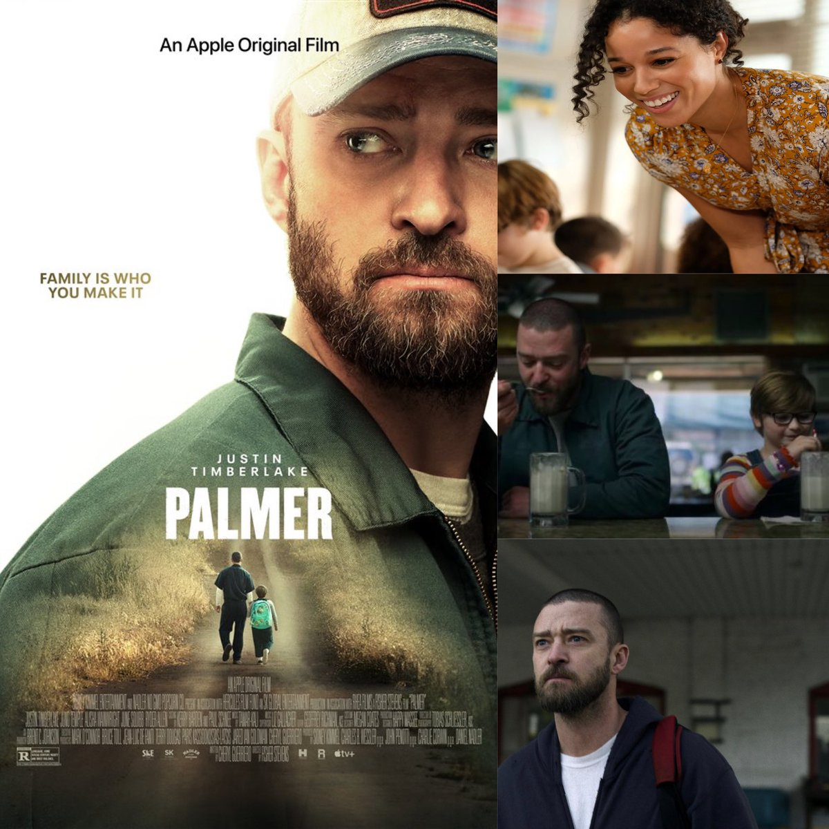 A touching story with a good message.  It's not great but an overall decent film with sweet performances that I did enjoy.  It's worth the watch #palmer #fisherstevens #cherylguerriero #anappleoriginalfilm #justintimberlake #ryderallen #alishawainwright #harryatthemovies