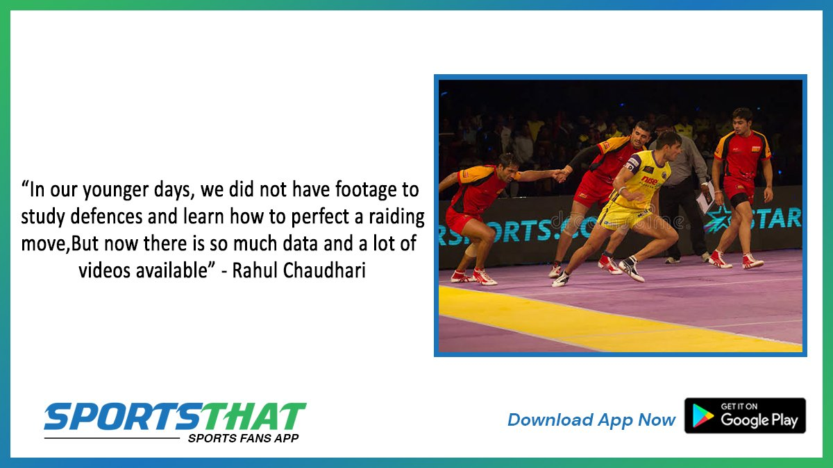Star raider Rahul Chaudhari speaks on how the game of Kabaddi has evolved over the years. #rahulchaudhari  #prokabaddi #kabbadi #prokabaddileague #psl #raid #kabbadi #pinkpanther #jaipur #jaipurpinkpanthers #raider #umumba #lepanga #sandeepnarwal #deepakhooda #india #sportsnews