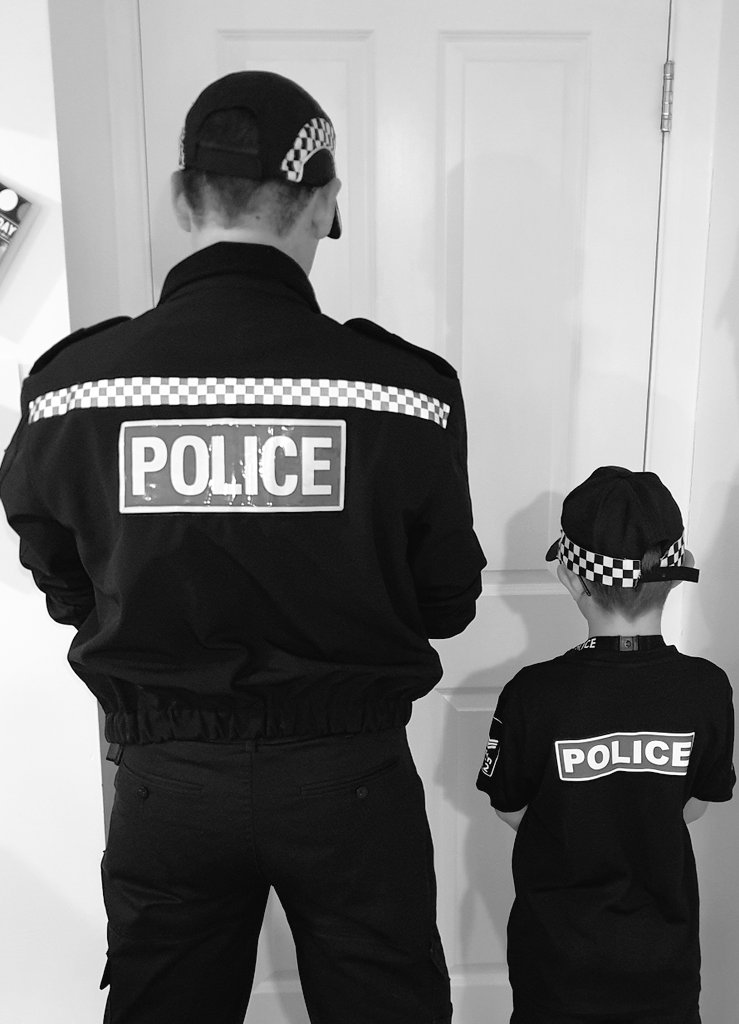 Dear @BorisJohnson and @MattHancock I am the son of a serving police officer please get them the vaccine.  I don't want my daddy or any more of the Police Family to die due to covid. I am already scared enough when they go to work 😢 👮♂️👮♀️🐾🐾🚔🚔💙💙