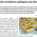 📰🇪🇺Les fonds européens permettent de financer de nombreux projets dans tous les territoires. Décryptage de la prochaine génération des fonds 2021-2027 dans #Maires de France de décembre 2020. #Collterr #Europe https://t.co/OubjWpPpHH