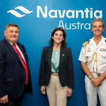 #Navantia Australia office in Canberra received this Tuesday the new Spanish Ambassador to #Australia, H.E. Ms. Alicia Moral Revilla, together with the Defense Attaché of Spain, CN Augusto Vila Barrón @EmbajadaEspAust