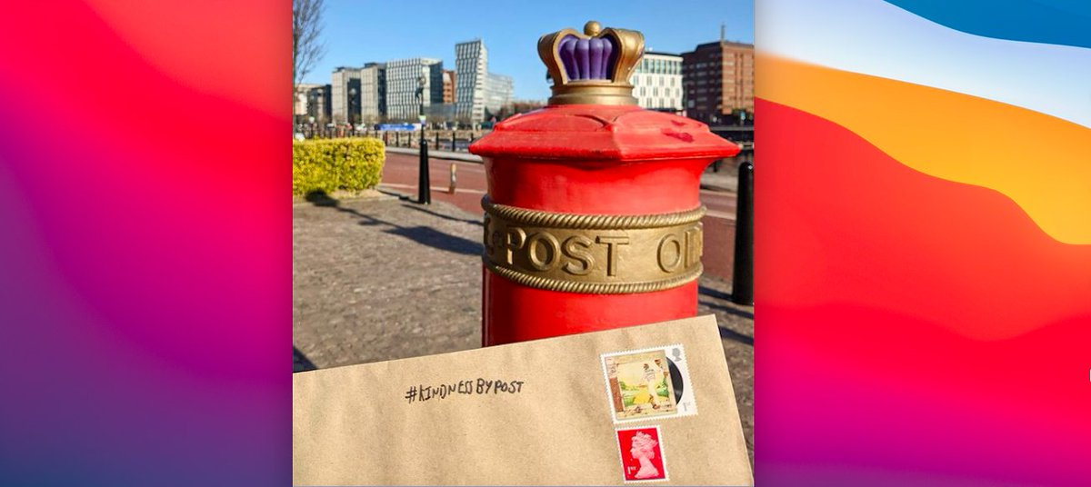 Deadline today! Don't forget to pop your #KindnessByPost in the letterbox today. 💌💕 @MHC_UK #ValentinesDay