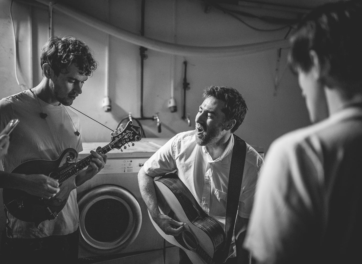 It's been a while since I posted, apologies for that, but my phone's on the blink and I need to get a new one. Anyway, here's a throwback to me, @TommyAshbyMusic and @H3nrik warming up under a stadium in an old laundry room. Jx