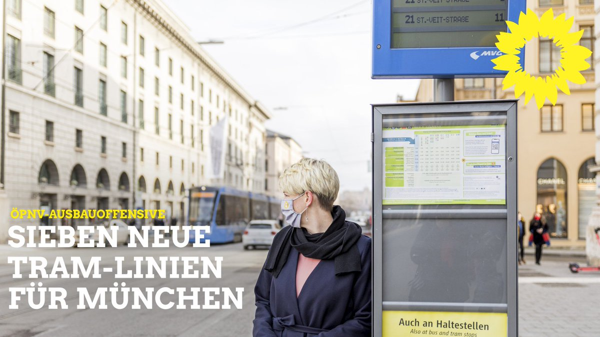 Top! Ich freue mich besonders über die Tram-Westtangente und was in Sachen Tangentialverbindungen bei Bussen noch so alles in Planung ist! #MünchenSüd