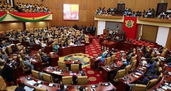 Ghana shuts down parliament