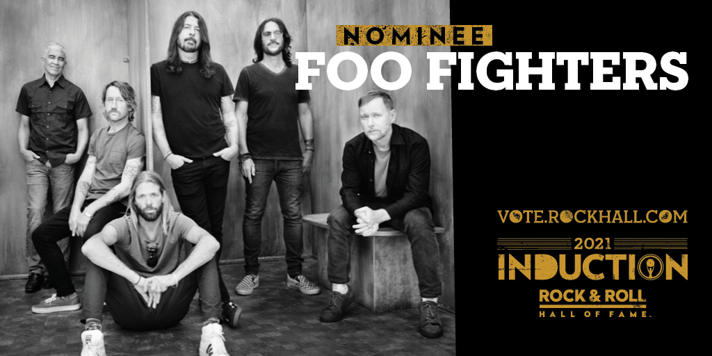 Replying to @foofighters: WOW. Thank you @rockhall!!! #RockHall2021