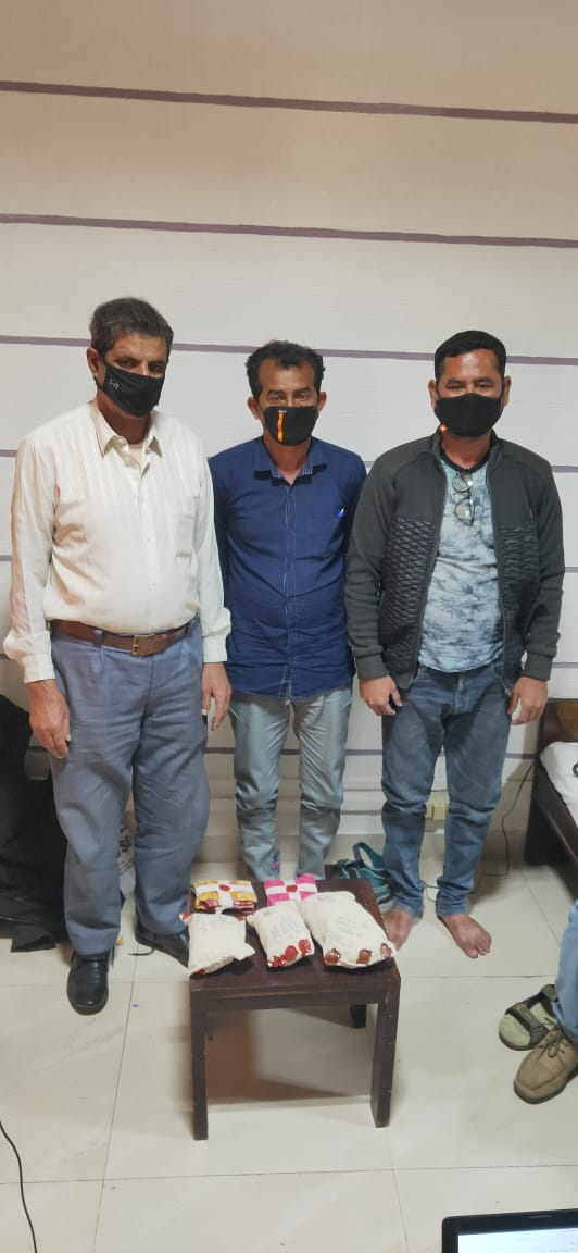 NCB Gujarat nabs one from Kashmir in Vadodara with 2 kg Charas