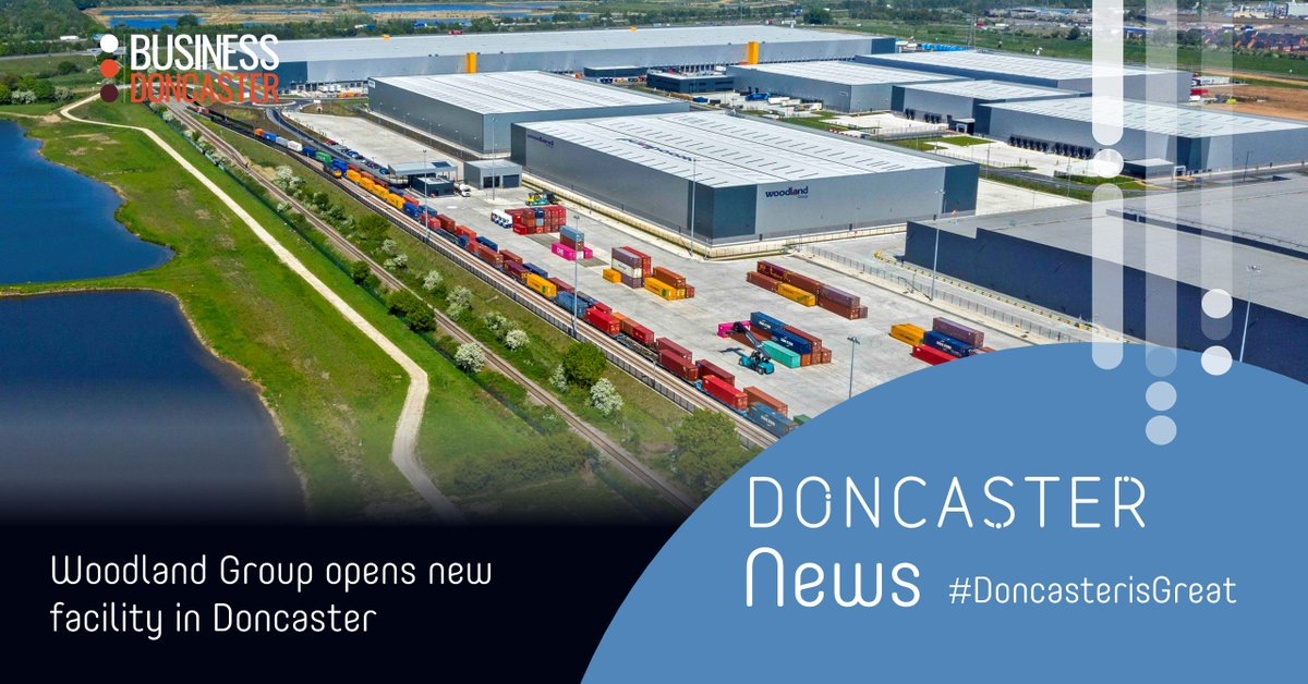 Our second piece of #investment news today is...  @WoodlandGroup, one of the UK's largest, privately owned logistics companies, is opening its new fulfilment and distribution facility at the iPort in Doncaster!  Find out more ⬇️   https://t.co/weLmExC42Q  #doncasterisgreat https://t.co/hJVGlTAxk7