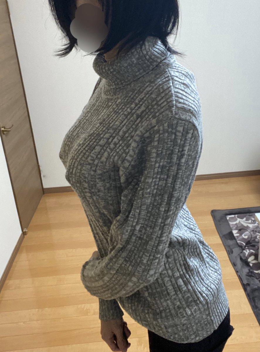 ニットの日 着衣巨乳エロ画像