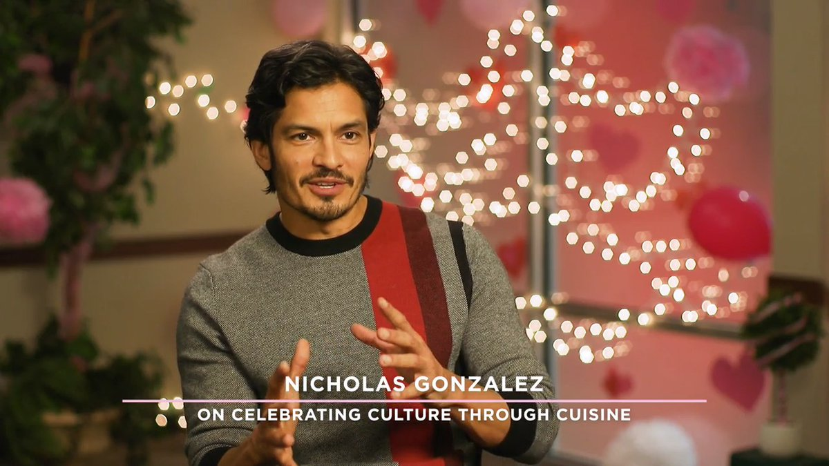 Playing Cupid star @IamNickGonzalez really relates to his character David and his love of Mexican food. Find out more about how food plays a role in the all new original movie #PlayingCupid this Saturday at 9/8c! #LoveEverAfter