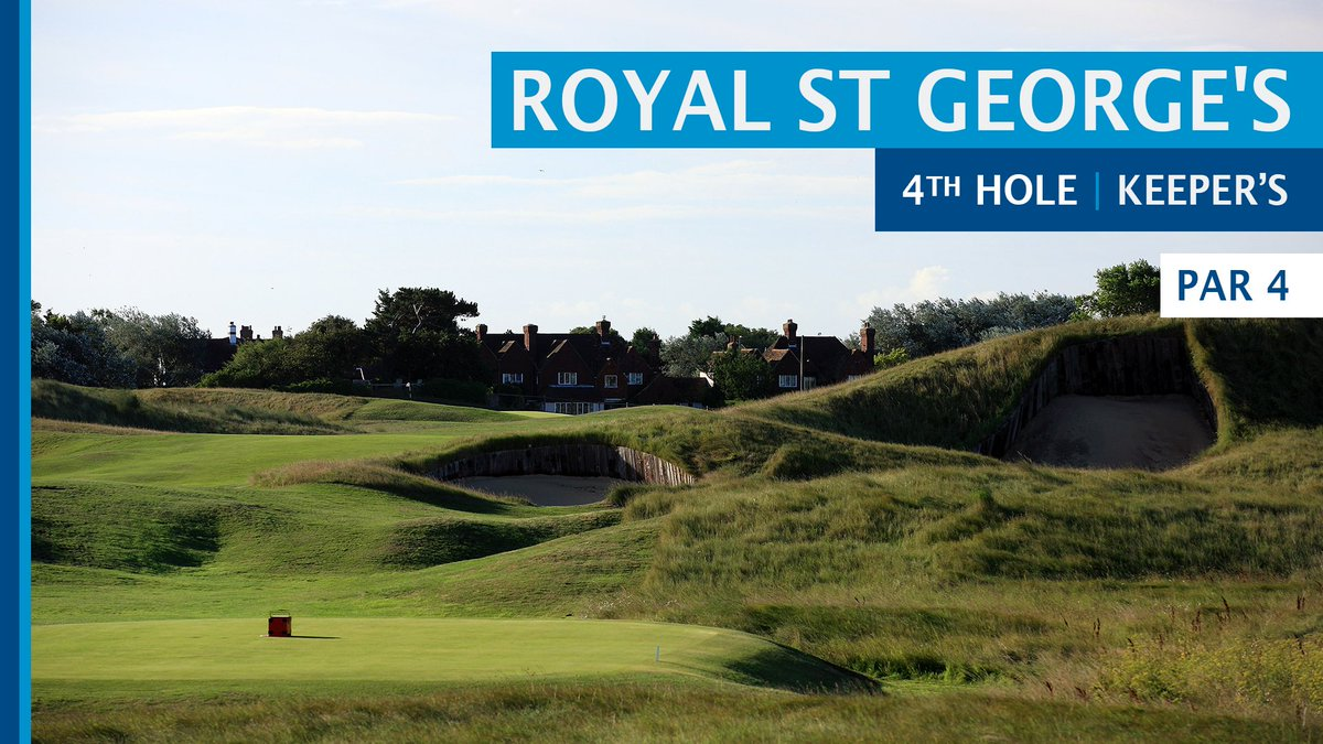 The site of The 149th Open ⛳️ Breaking down the iconic 4th hole at Royal St George's and the obstacles that await the world's best players in July 🏆 #GolfWHS2020