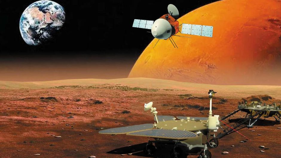 """Congratulations to China for arriving at the planet Mars today, with their Tianwen-1 (""""Heavenly Questions"""") mission.  It contains an Orbiter as well as a Lander/Rover combo that touches down in May."""
